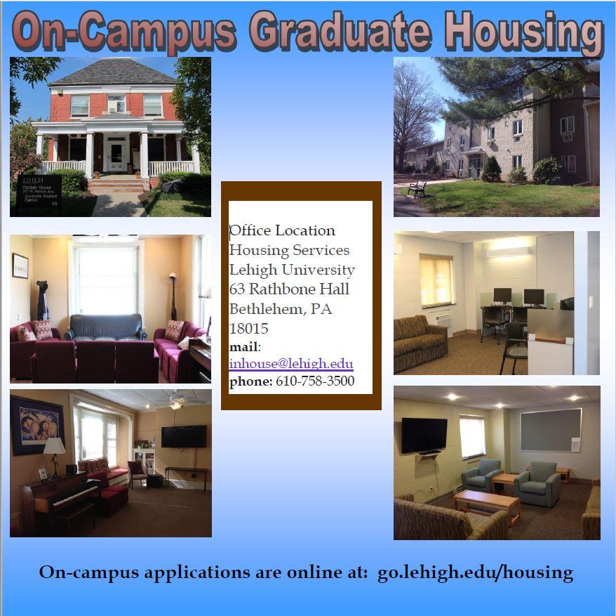 On-Campus Graduate Housing
